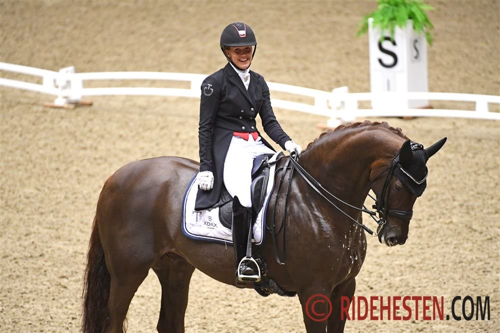 Dufour med to heste i top 10 på verdensranglisten