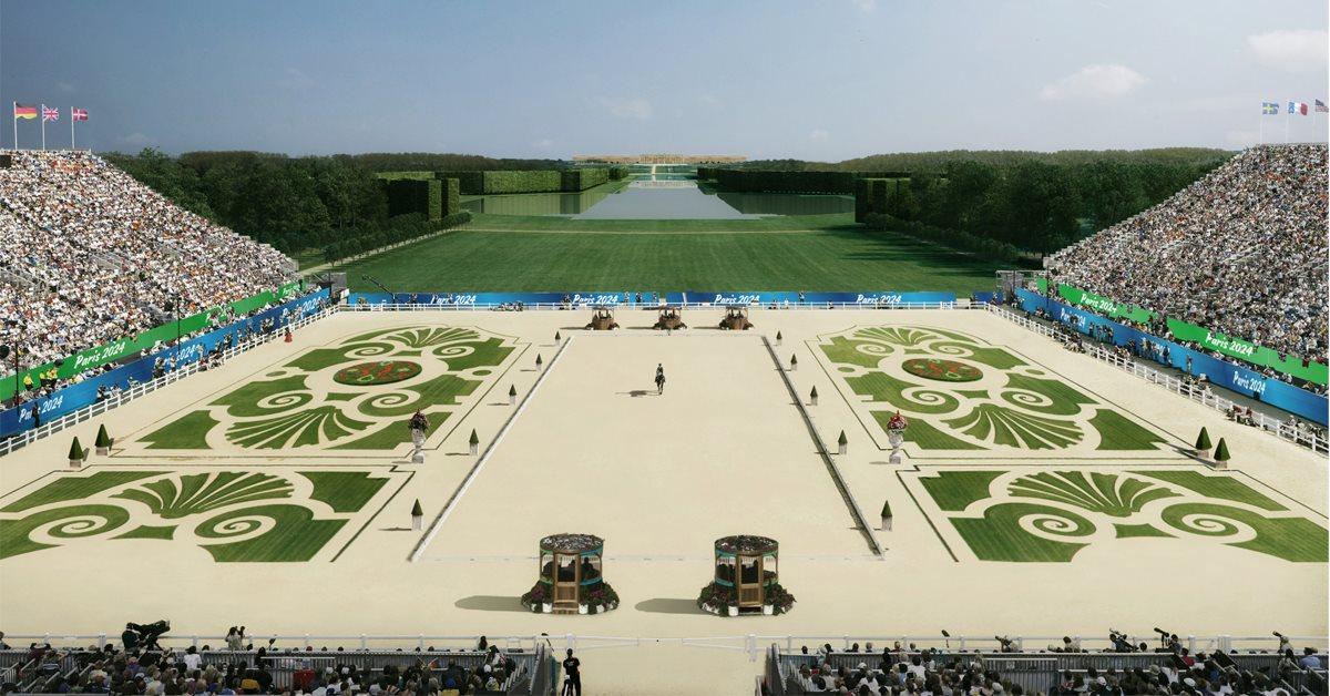 Ridesporten afvikles i Versailles ved OL 2024