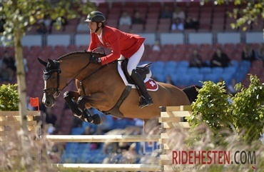 Toppen af springsporten til Royal Windsor