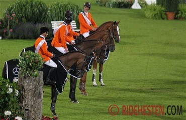 Holland vandt nations cup i Aachen