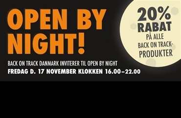Open by Night hos Back on Track