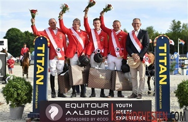 Tysk sejr i FEI Nations Cup ved Equitour