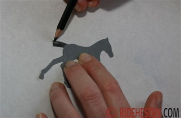 Design Dansk Ride Forbunds 100 år-logo