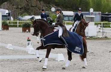 Lotte og Rafael i international Grand Prix-sejr
